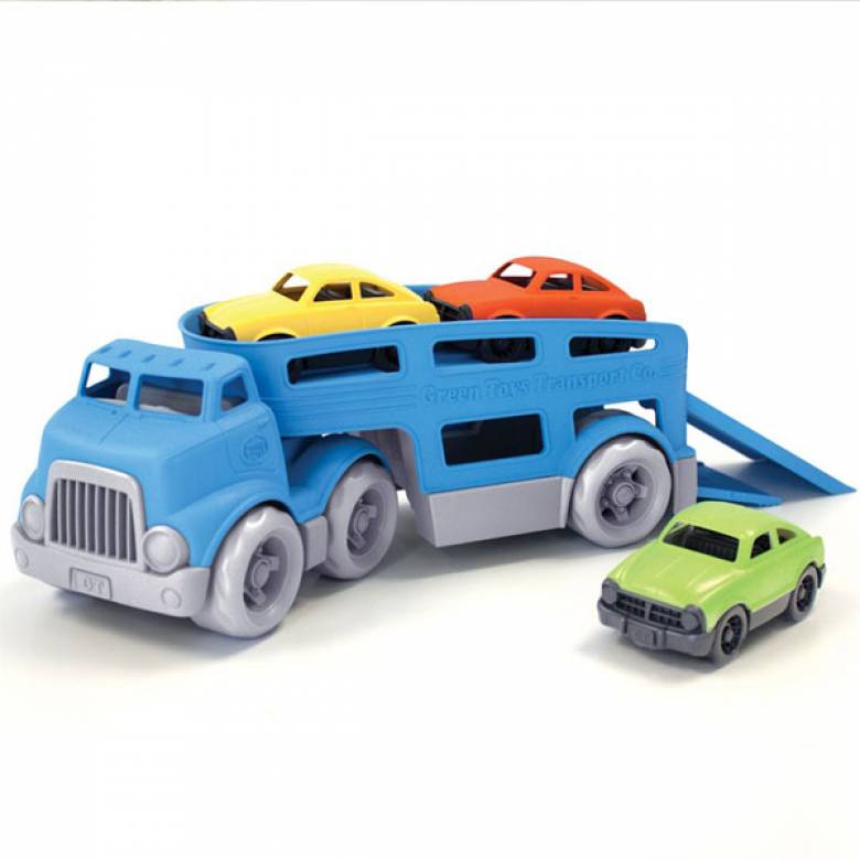 Car Carrier By Green Toys - Recycled Plastic 3+