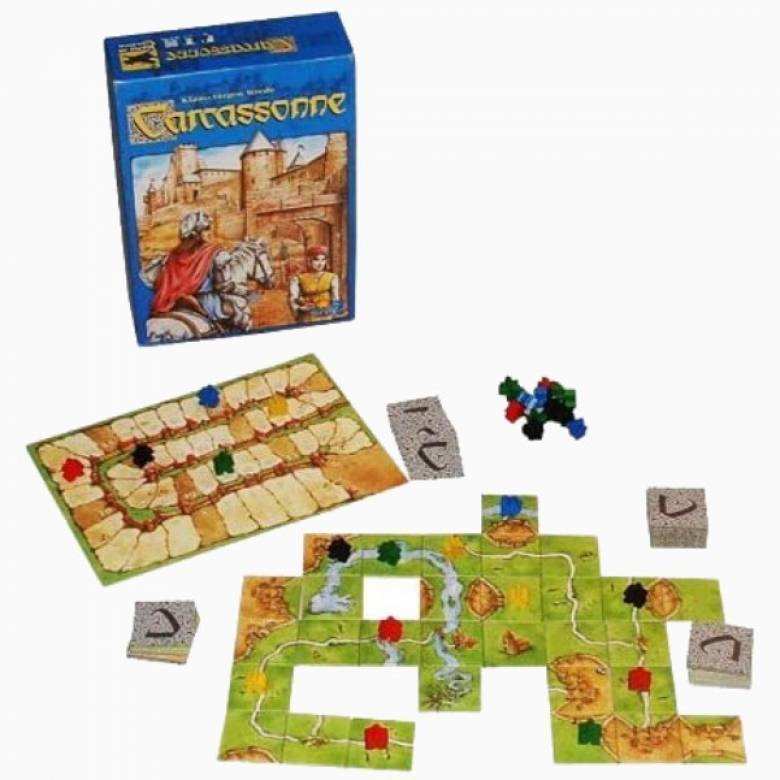Carcassonne Game 7+