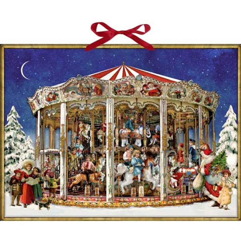 Nostalgic Christmas Carousel Advent Calendar.