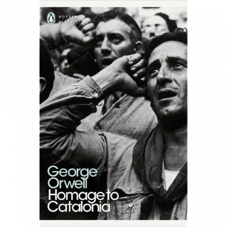 Homage To Catalonia By George Orwell Paperback Book