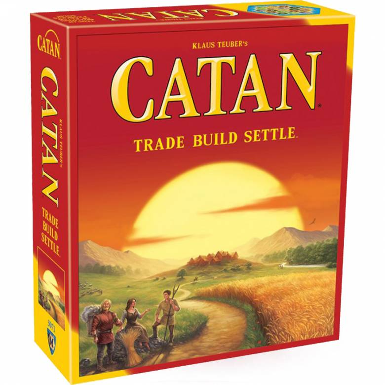 CATAN Game - Trade Build Settle 10+ by Klaus Tuber