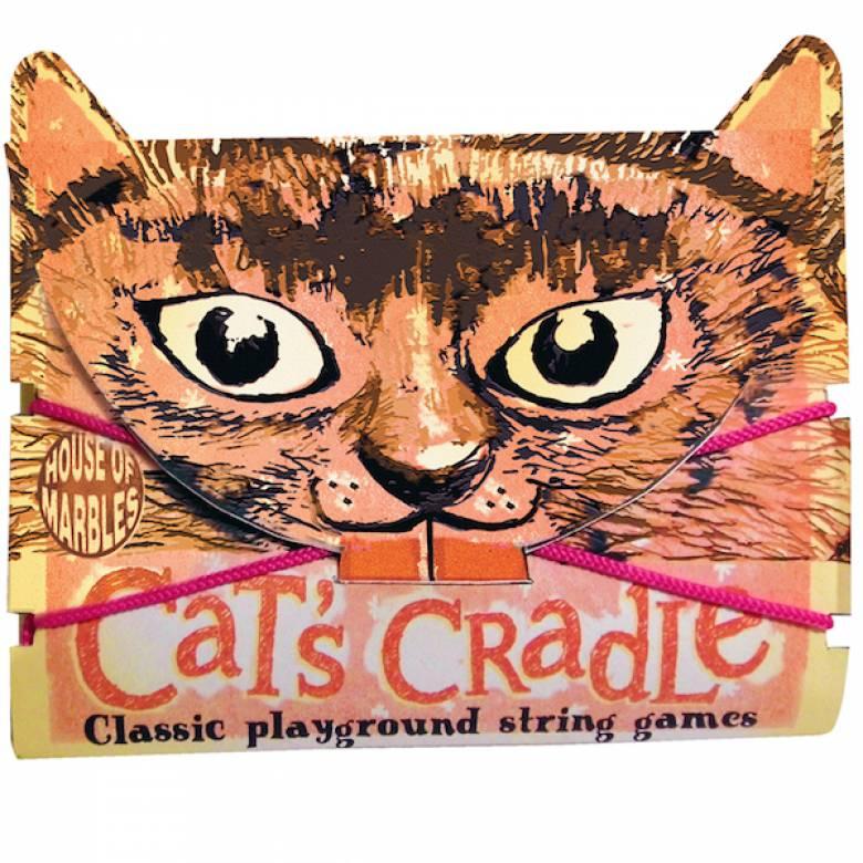 Cat's Cradle In Cat Shaped Envelope