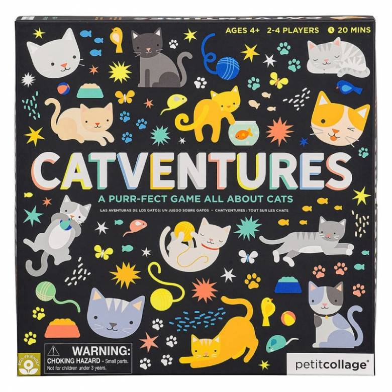Catventures Board Game 4+