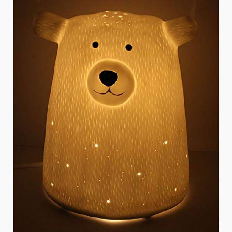 Ceramic Bear Lamp Night Light