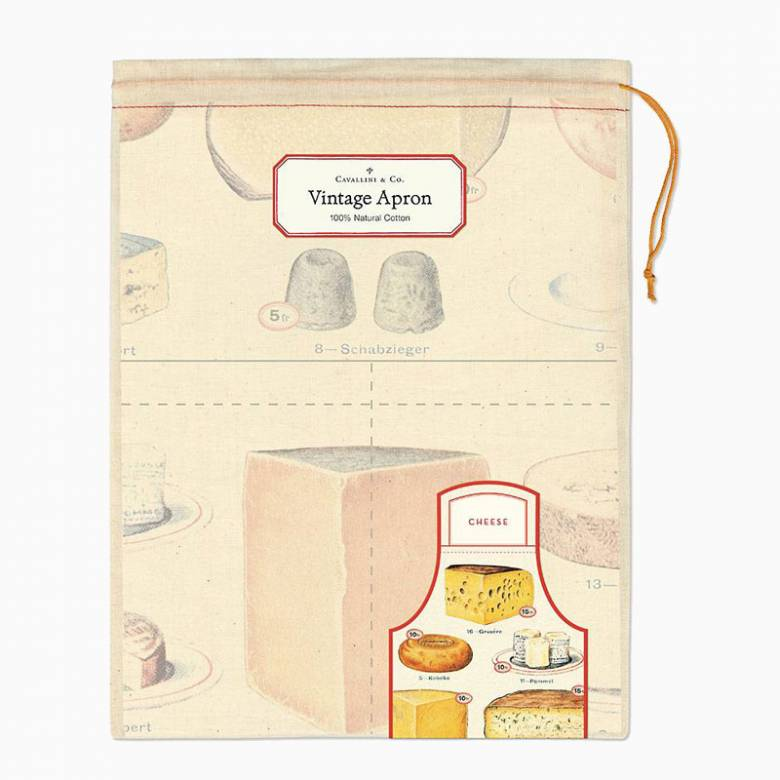 Cheese Cotton Apron with Gift Bag