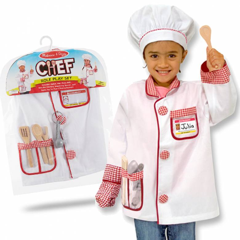 Fancy Dress Role Play Costume Set - Chef