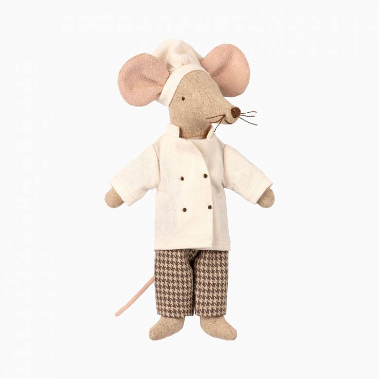 Mouse Chef Soft Toy By Maileg
