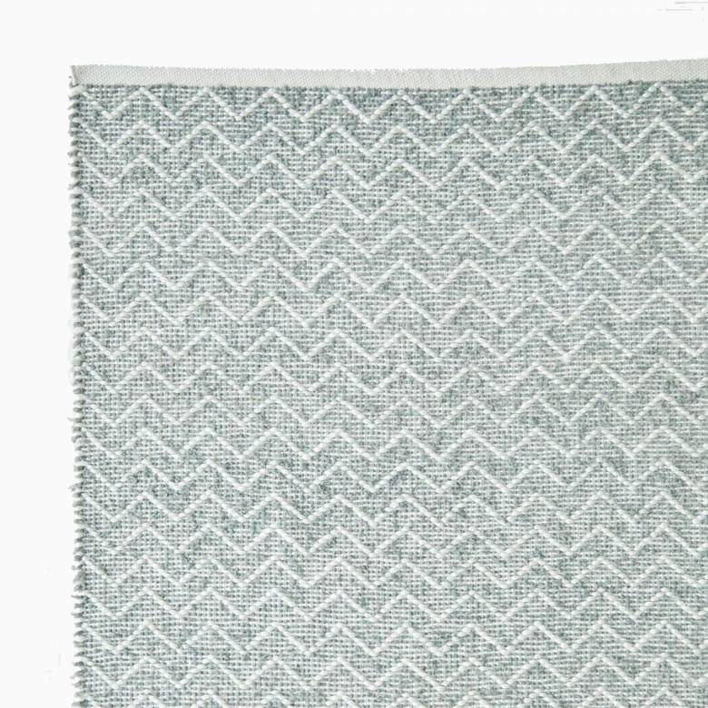 Chenille Dove Grey 110cm x 60cm Recycled Bottle Rug