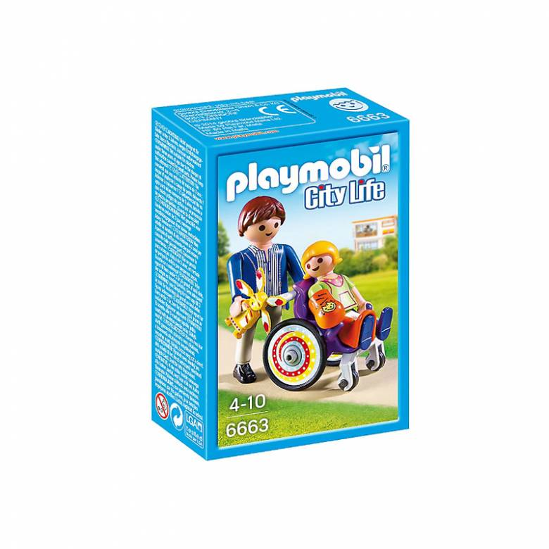 Child In Wheelchair Figures Playmobil 6663