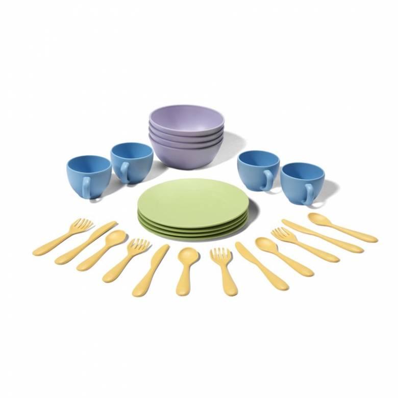 Children's Crockery Dish Set By Green Toys 2+