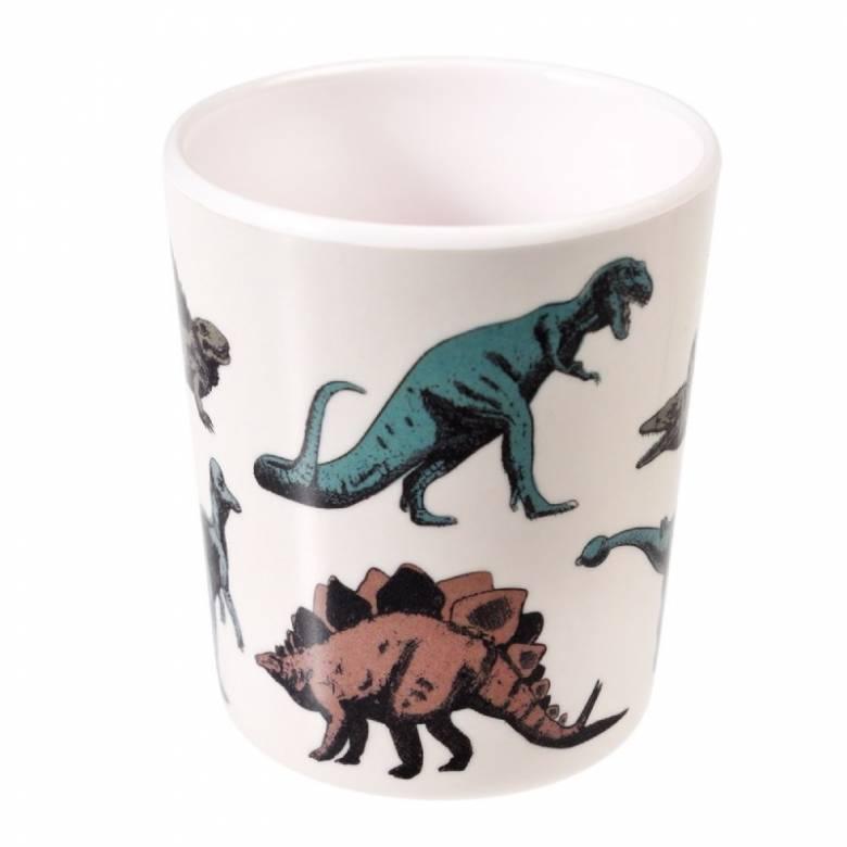 Children's Dinosaur Print Melamine Beaker Cup