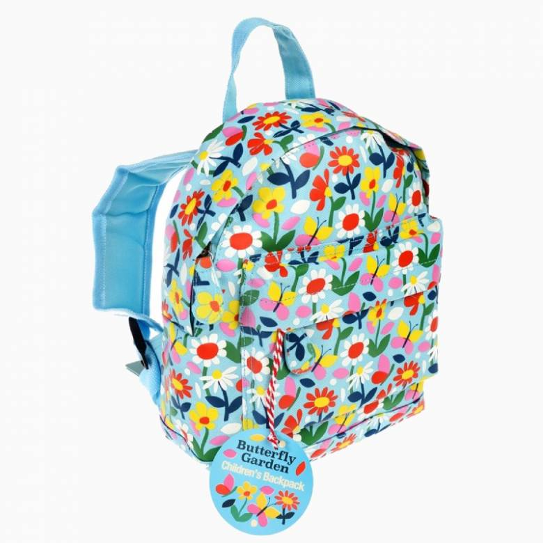 Children's Flower Print Mini Backpack