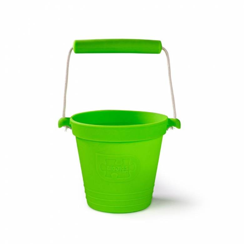 Children's Foldable Bucket In Meadow Green 18m+