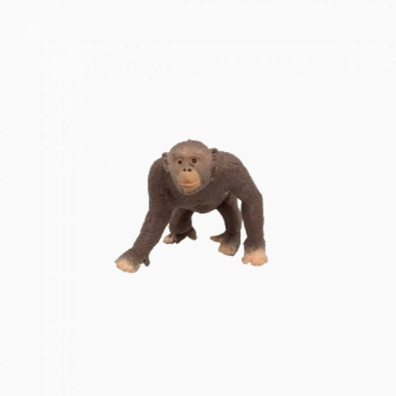 Chimpanzee Stretchy Beanie Animal Toy 3+