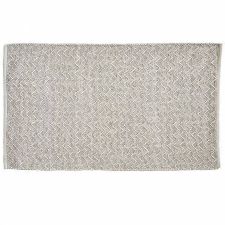 Chinchilla Chenille Rug 150x90cm Recycled Bottle Rug