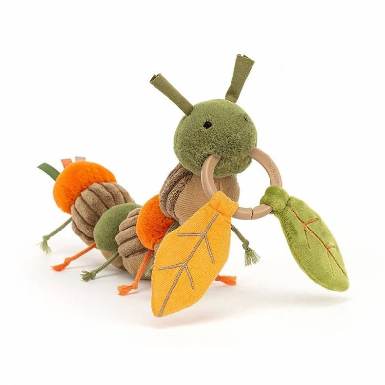 Christopher Caterpillar Soft Activity Toy By Jellycat