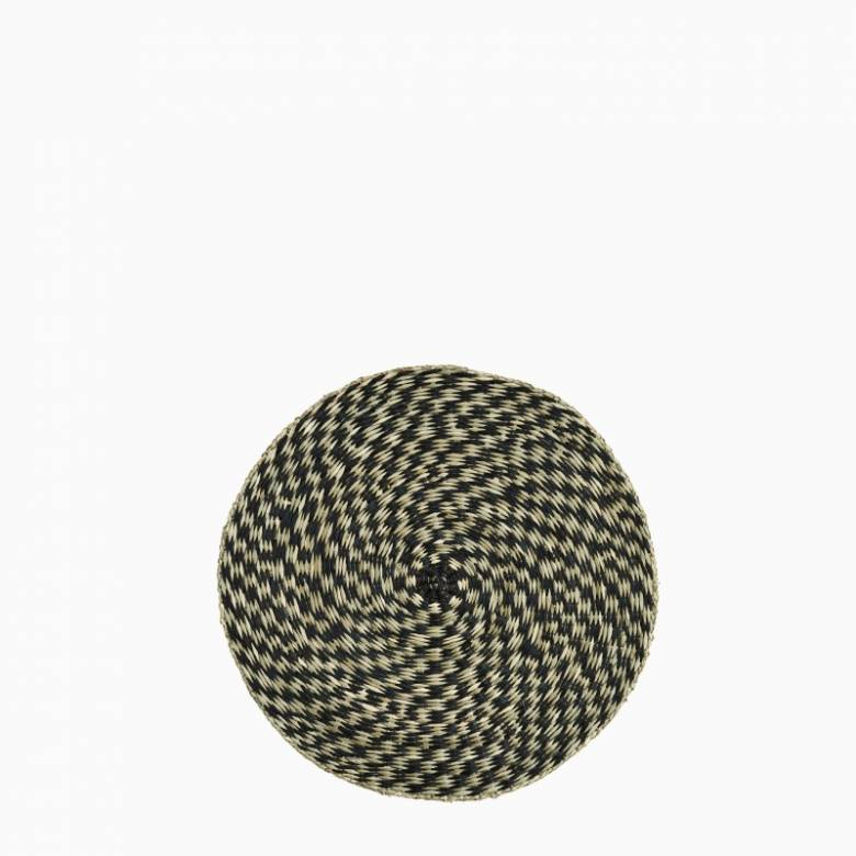 Circular Seagrass Two Tone Placemat
