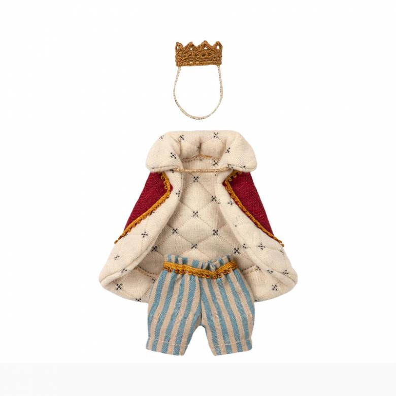 Clothes For Mouse King Soft Toy By Maileg