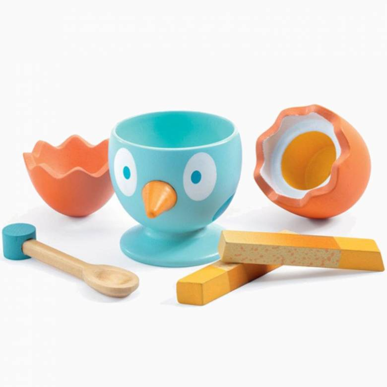 Coco Egg Play Food By Djeco 4+