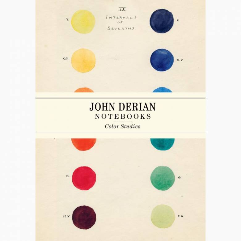 Colour Studies By John Derian - Set Of 3 Notebooks