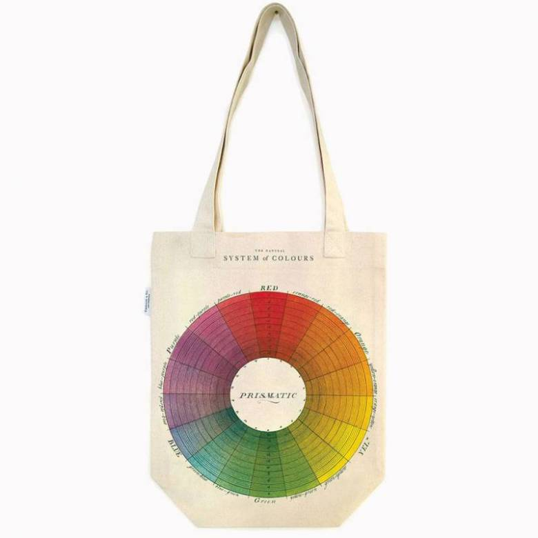 Colour Wheel Cotton Tote Bag