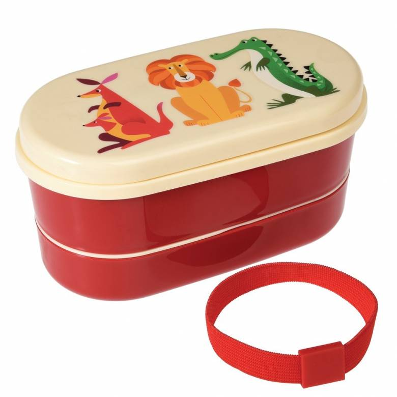 Colourful Creatures Melamine Bento Box