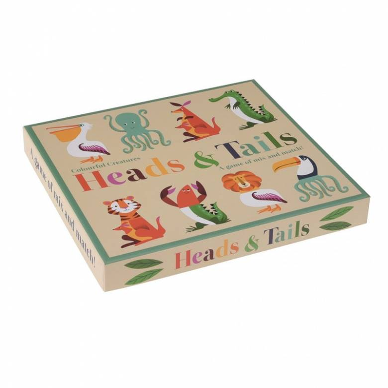 Colourful Creatures Heads & Tails Game