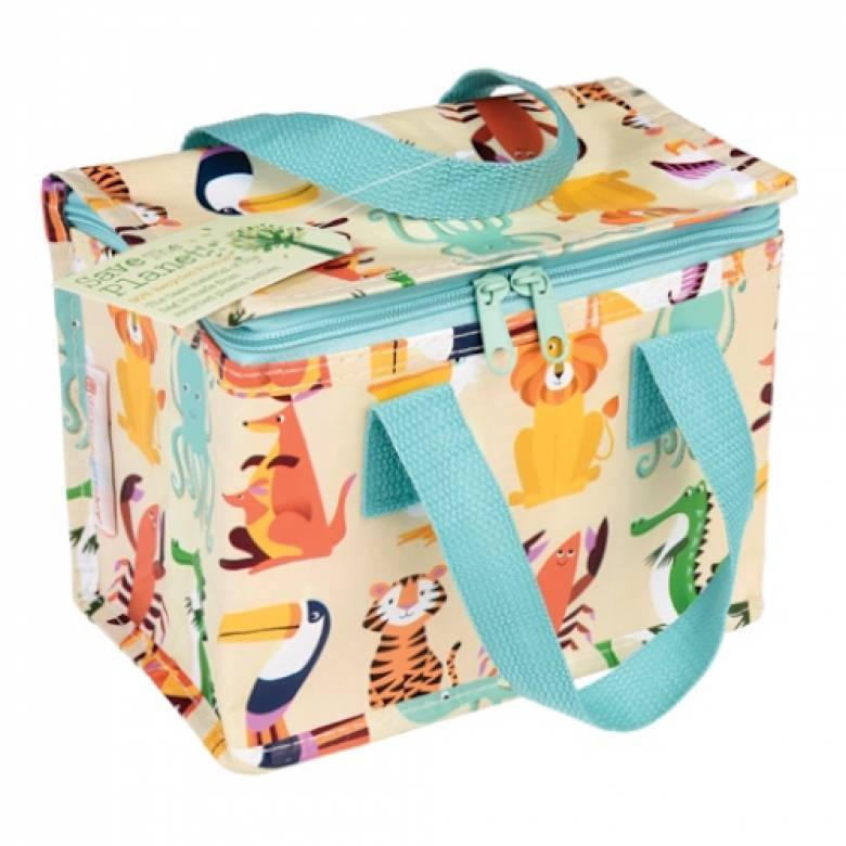 Colourful Creatures Insulated Lunch Bag