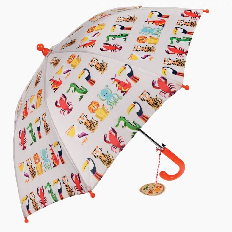 Colourful Creatures Children's Umbrella 3+