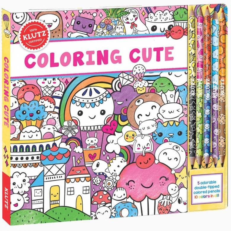 Colouring Cute - Colouring Set