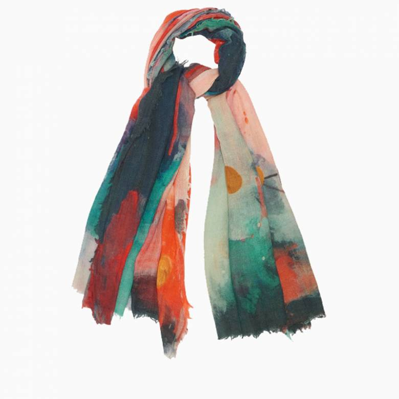 Cosmique Wool Scarf By Jo Edwards