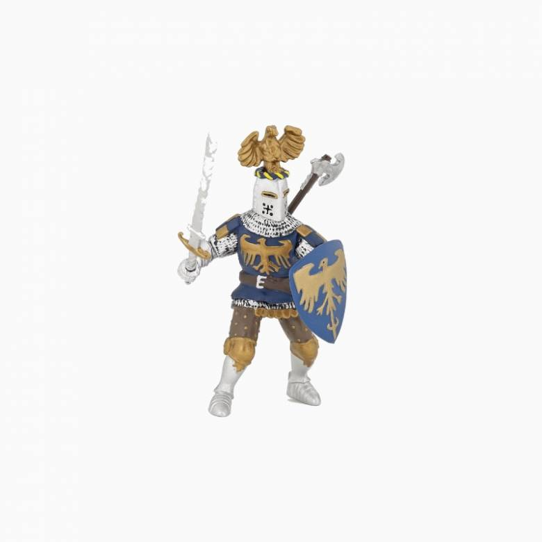 Crested Blue Knight - Papo Fantasy Figure