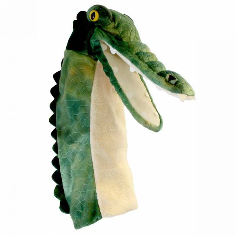 Crocodile Long Sleeved Glove Puppet