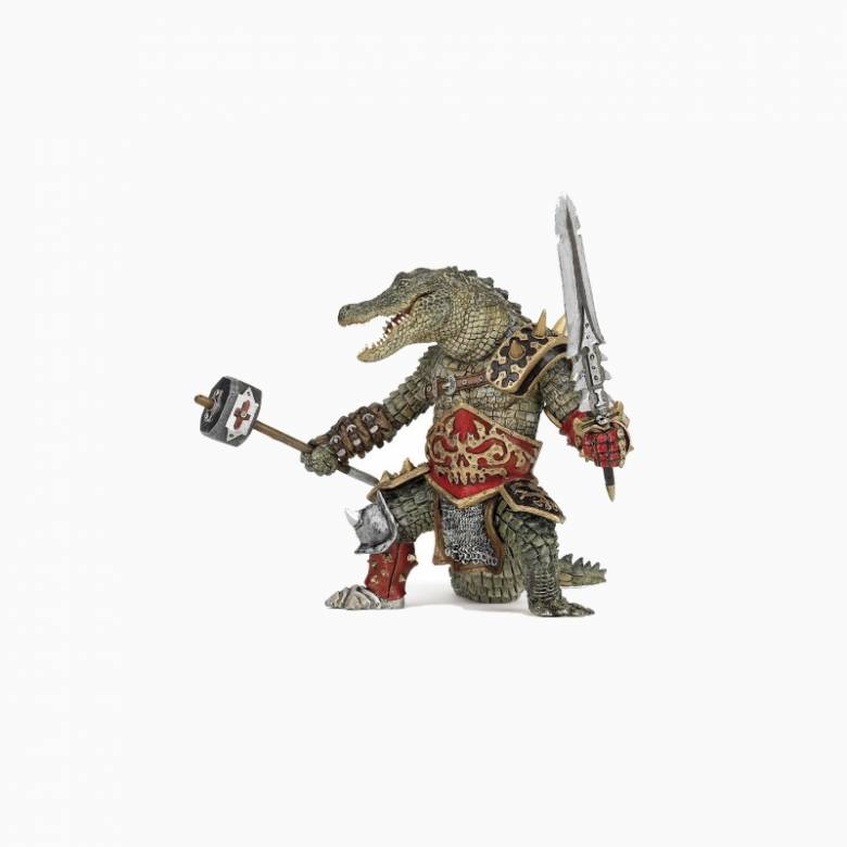 Crocodile Mutant Warrior - Papo Fantasy Figure
