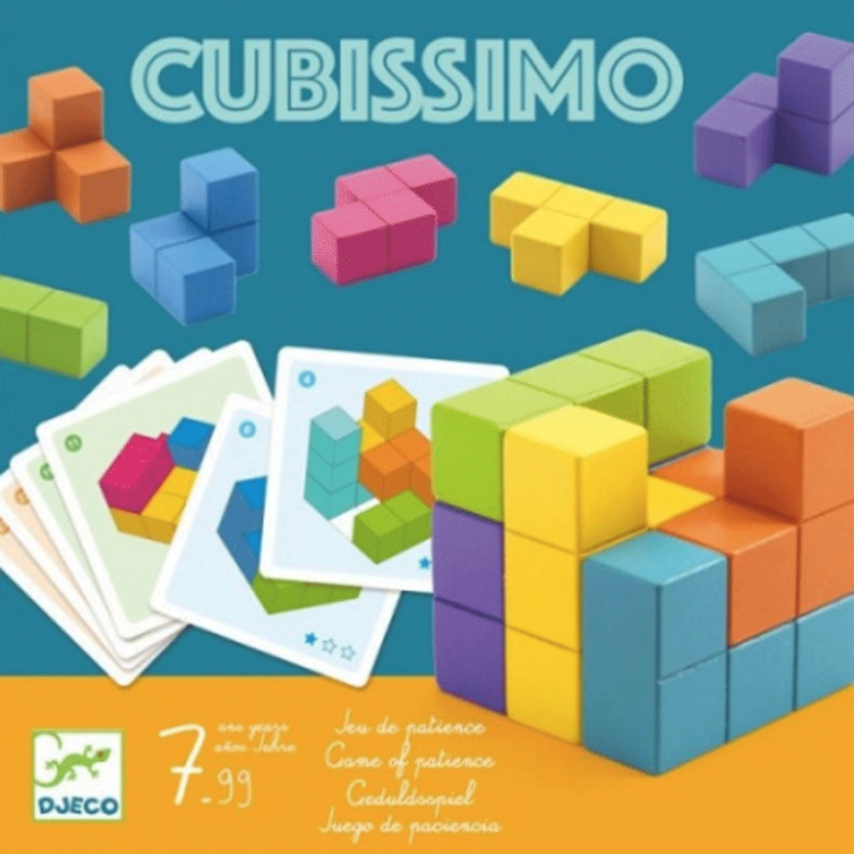 Cubissimo Game By Djeco 7+