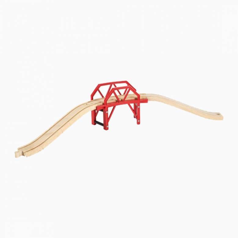 Curved Bridge BRIO® Wooden Railway Age 3+