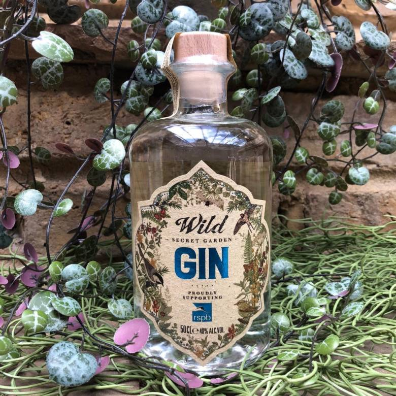 RSPB Wild Gin - Secret Garden 50cl