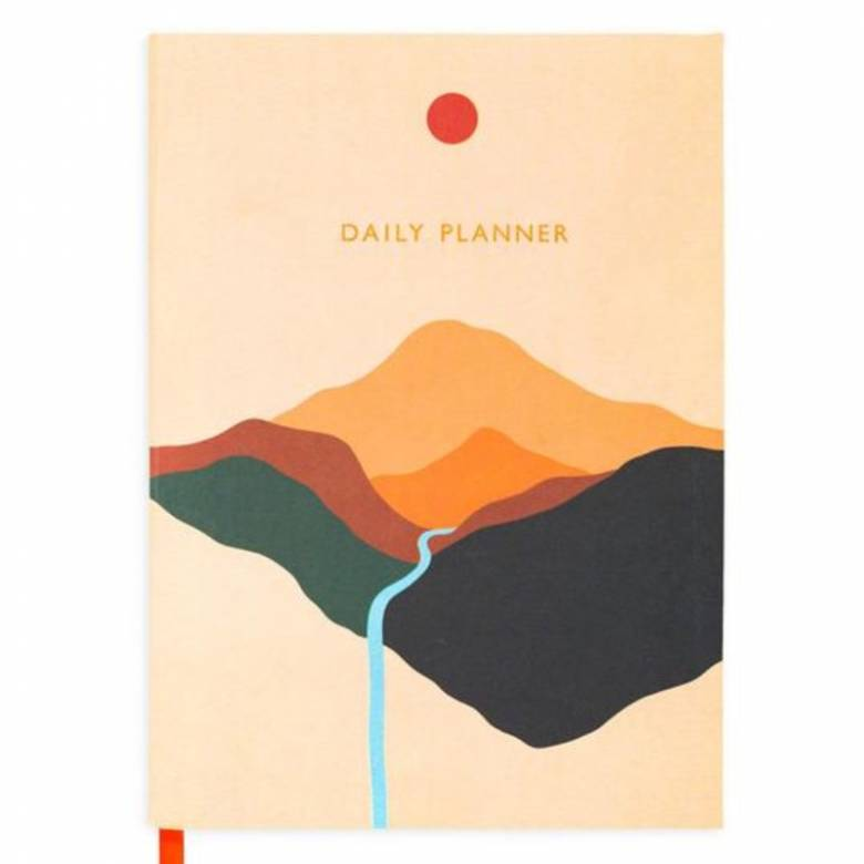 Daily Planner With Landscape Cover
