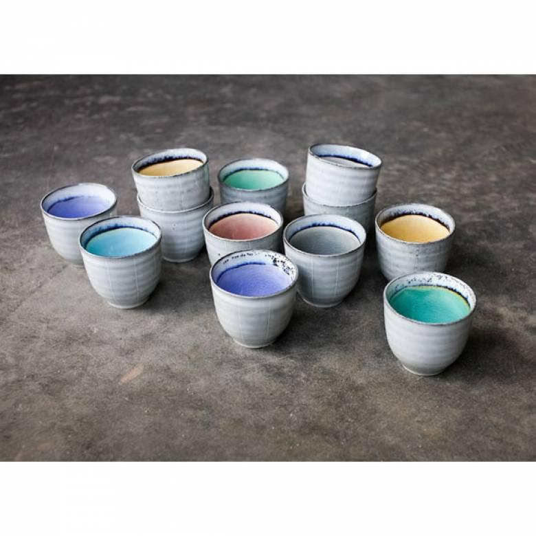 Dakara Ceramic Mug With Colour Glaze Inside VARIOUS