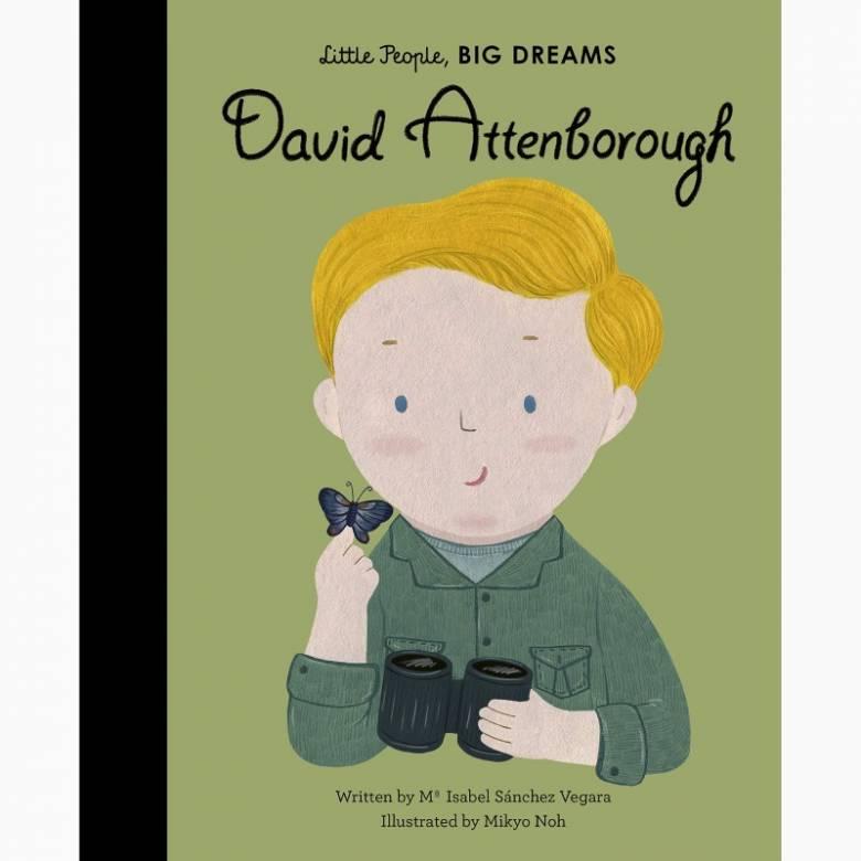 David Attenborough: Little People, Big Dreams - Hardback Book