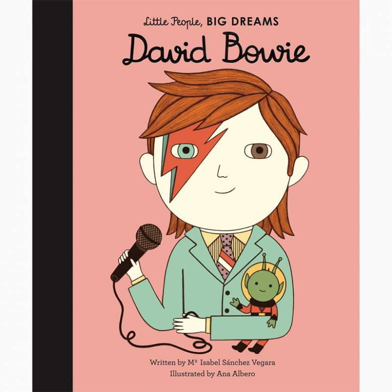 David Bowie: Little People Big Dreams - Hardback Book