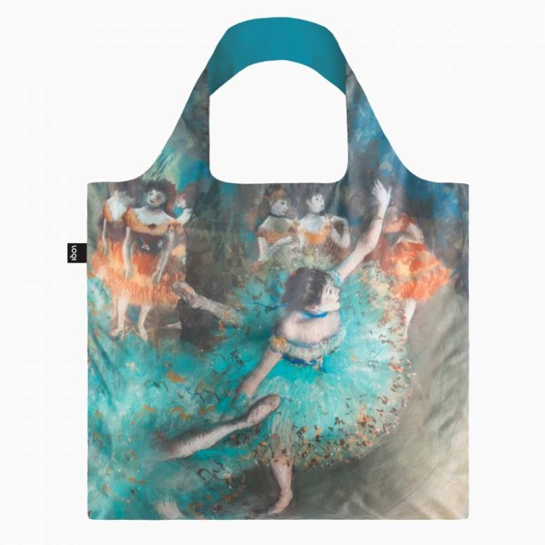 Degas Swaying Dancer - Reusable Tote Bag With Pouch