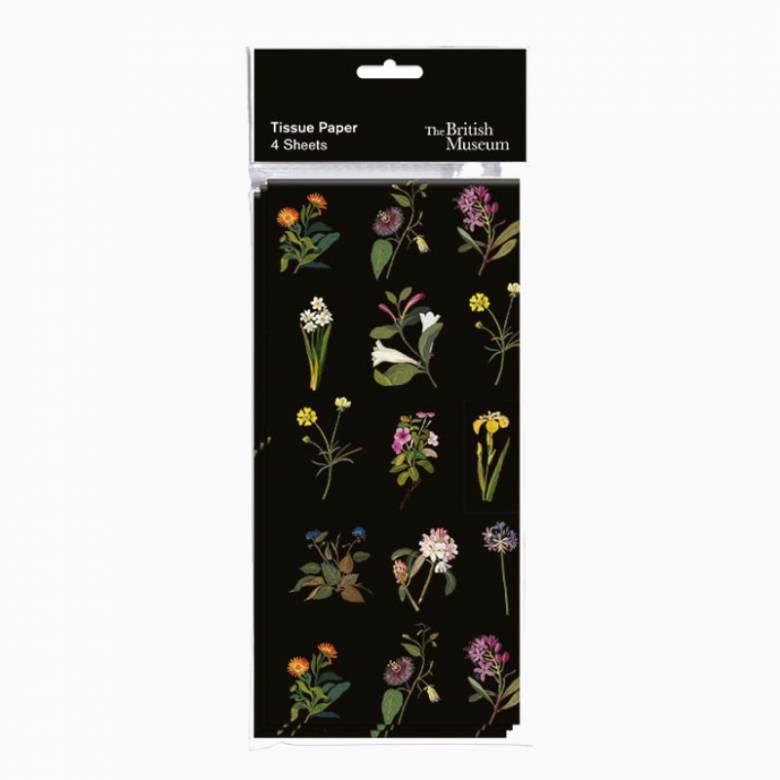 Delaney Flowers Tissue Paper