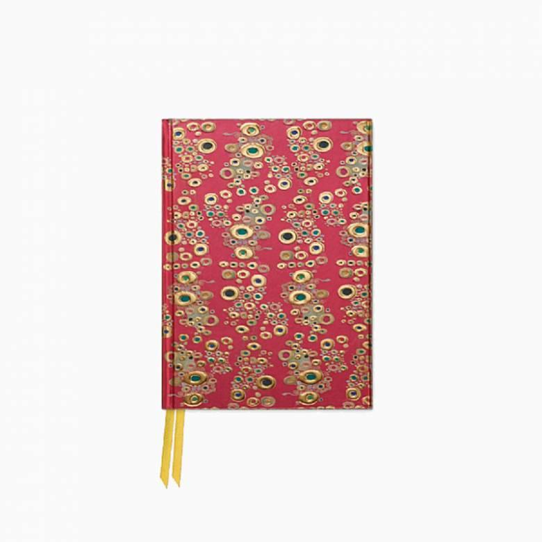Detail From The Kiss Klimt - Foiled Pocket Journal
