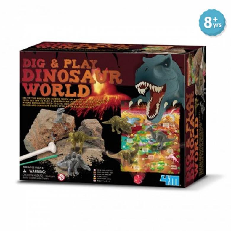 Dig And Play Dinosaur World 8+