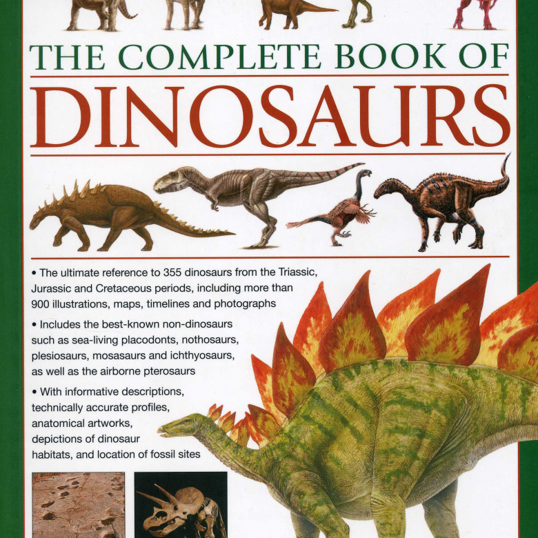 The Complete Book Of Dinosaurs Hardback Book