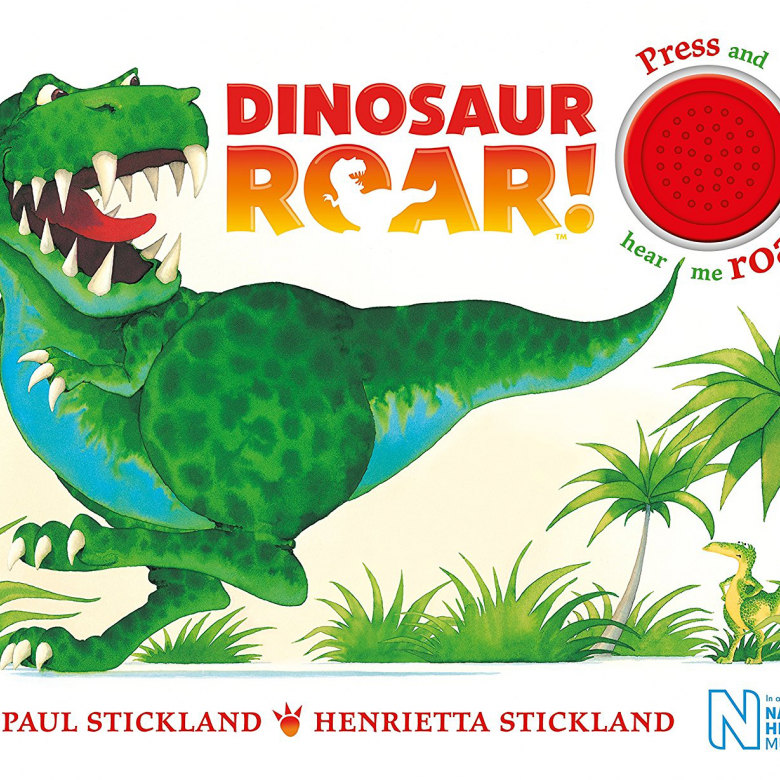 Dinosaur Roar! Sound Board Book