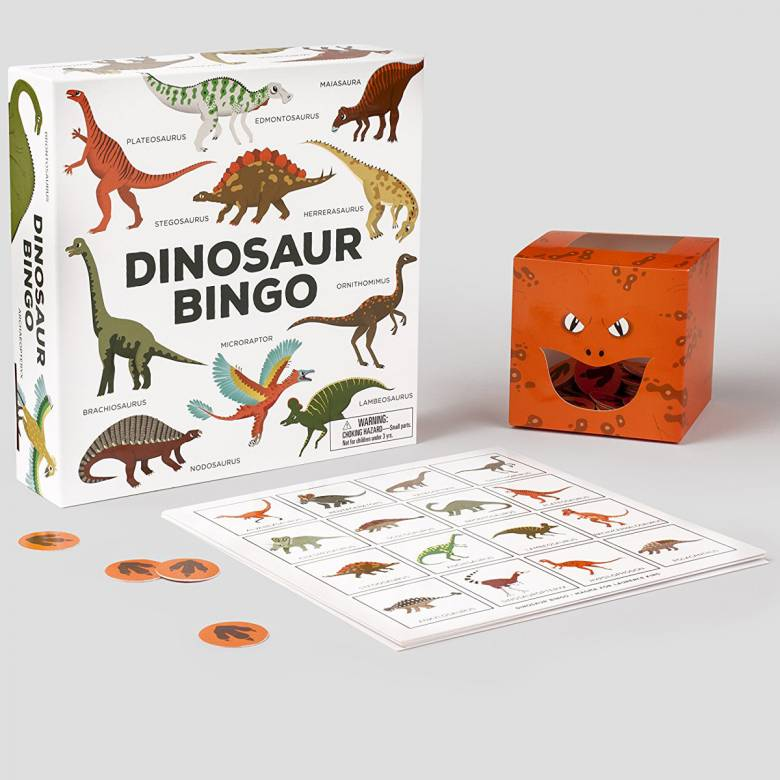 Dinosaur Bingo 6+