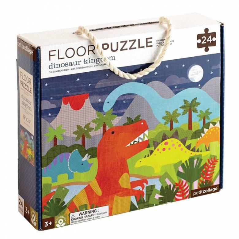 Dinosaur Kingdom Floor Puzzle 24pc 3+