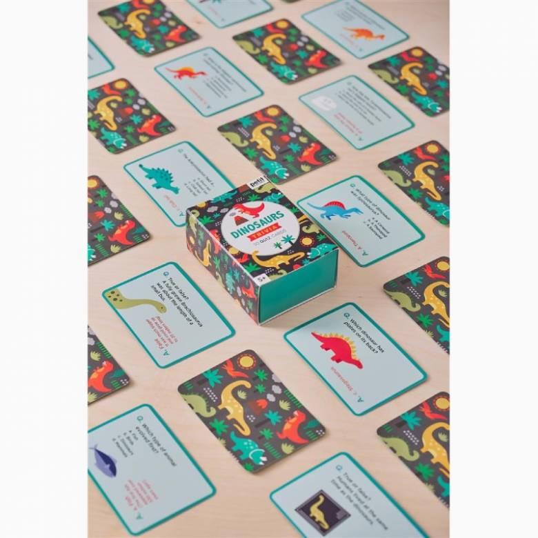 Dinosaur Trivia Quiz Cards 5+